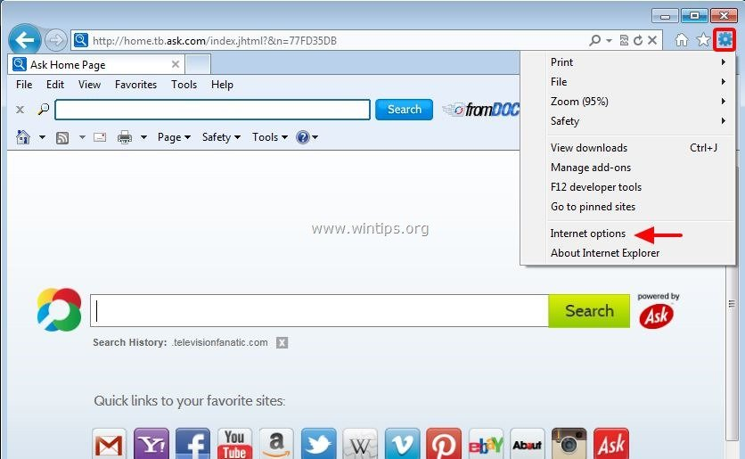 How To Remove Fromdoctopdf Toolbar Browser Hijacker