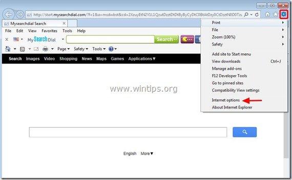 remove-start.mysearchdial.com-internet-explorer
