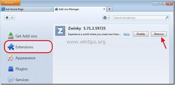 remove-zwinky-firefox