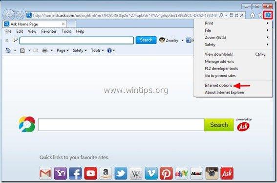 remove-zwinky-toolbar-internet-explorer