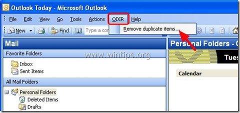 remove-duplicate-items-outllok