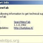 SearchNewTab Browser Hijacker Removal Guide