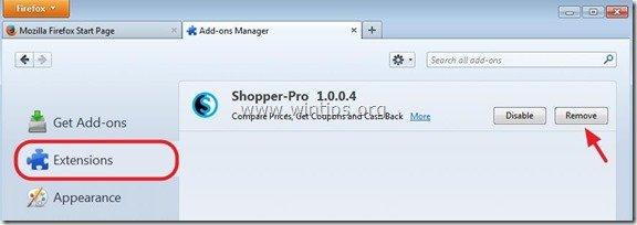 remove-shopper-pro-firefox