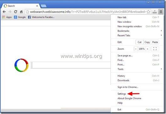 remove-websearch.webisawsome.info-chrome