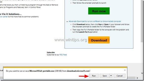 run-Microsoft-FixIt-portable