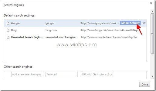how to change your homepage on chrome windows 7