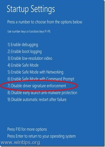 disable-driver-signature-enforcement