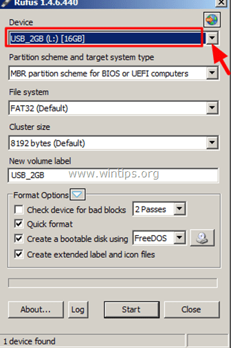 RUFUS USB BOOTABLE CREATOR