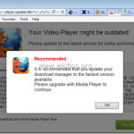 Remove Your Video Player Might Be Outdated virus