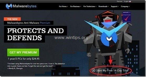 malwarebytes anti malware trial reset