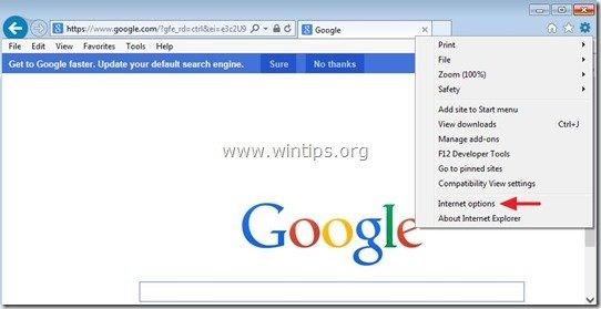remove-safepcrepair-internet-explore