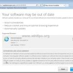 Remove 'Software VersionUpdater' & 'UpdateNowPro.com' pop-up ads.