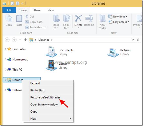 restore-libraries-folders