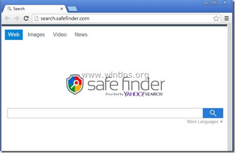 remove safefinder.com