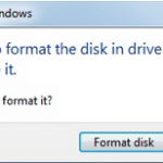 "SOLVED: ""You Need to Format the Disk Before You Can Use It"" after improper USB unplugging."