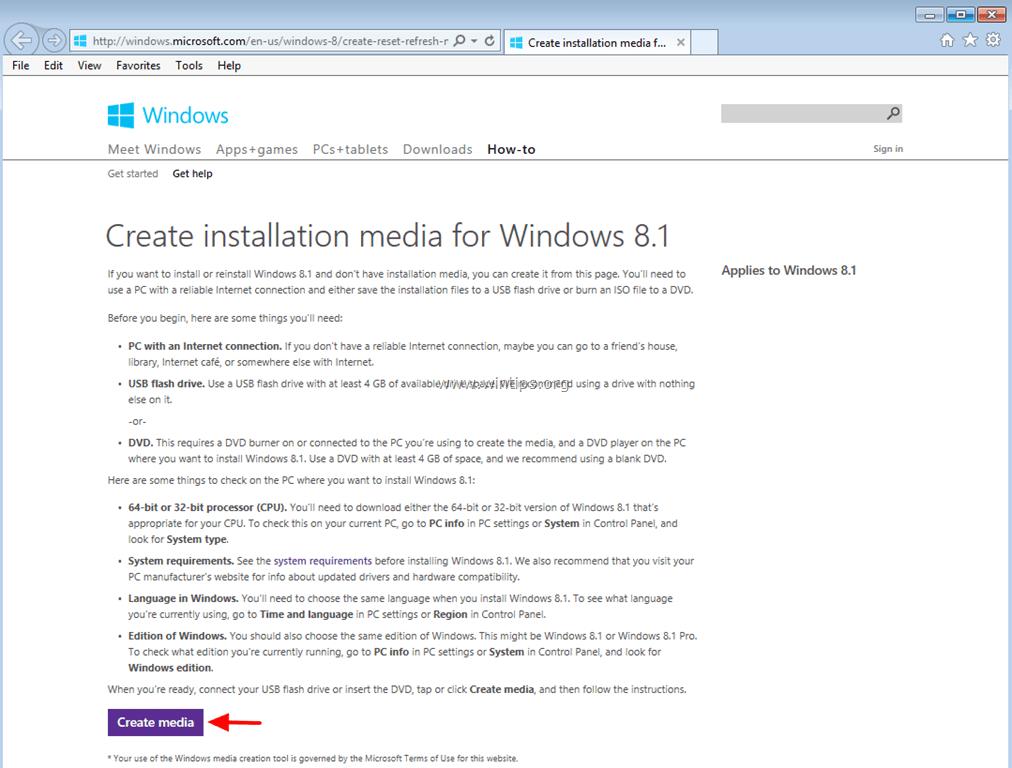 windows 8.1 professional iso 32 bit download