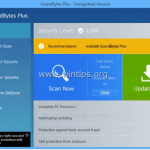 How to Remove GuardBytes Plus Virus – Rogue Program (Removal Guide)