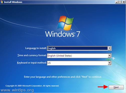 windows 7 boot