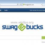 Remove Swagbucks.com search & SwagBucks Toolbar (Removal Guide)
