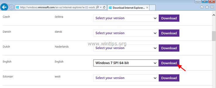 download-IE11-offline-installer