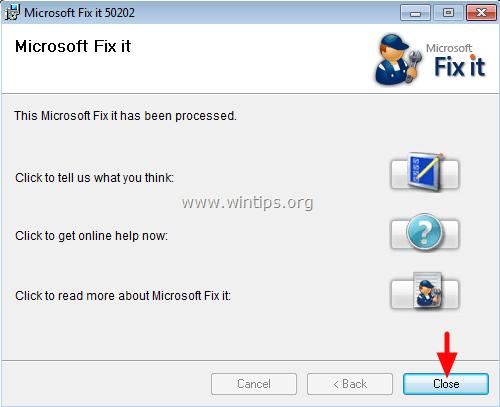Fix it 50202 - 3