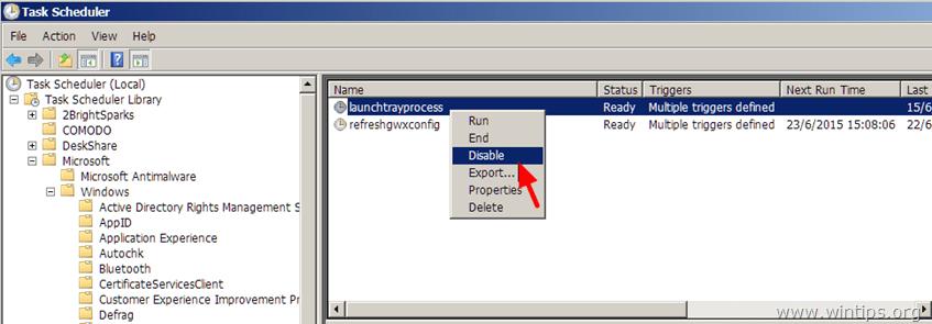 remove get windows 10 icon all users