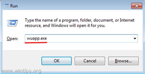 open Windows Update