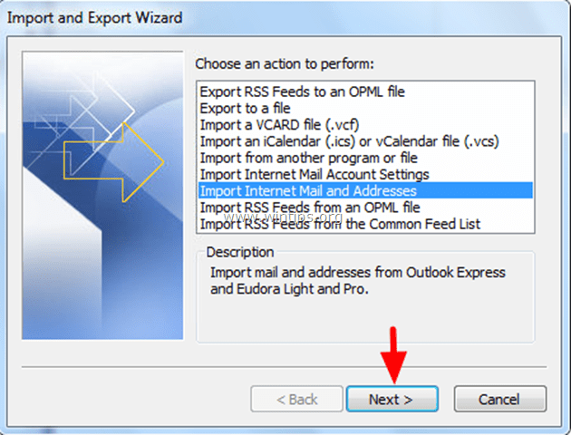 Import Outlook Express Address Book to Outlook