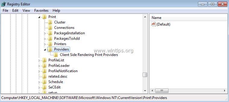How to fix: Print Operation Failed Error 0x00000006