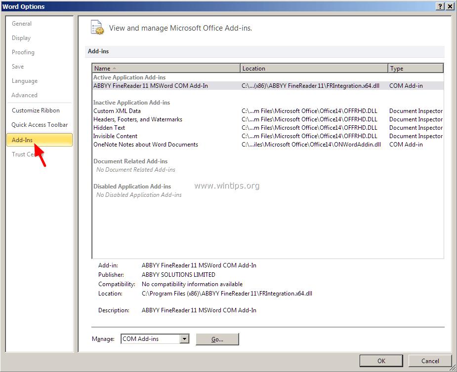 Excel Not Responding Fix