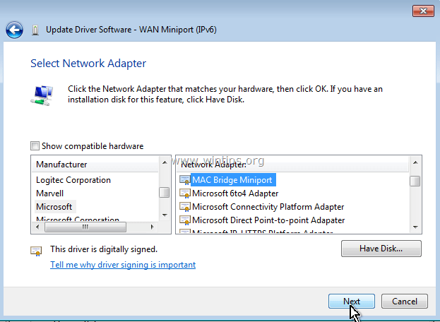 Download Driver Wan Miniport Ipx 2