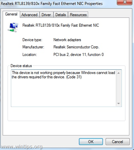 realtek disappeared from device manager