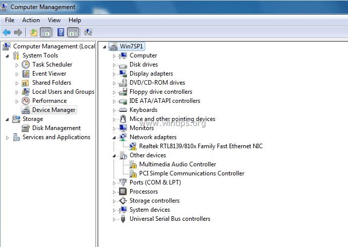 Ethernet Adapter Code 31 FIX