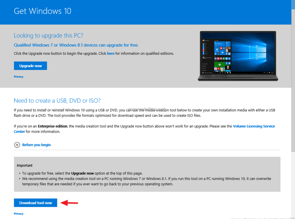 how to get windows 10 iso