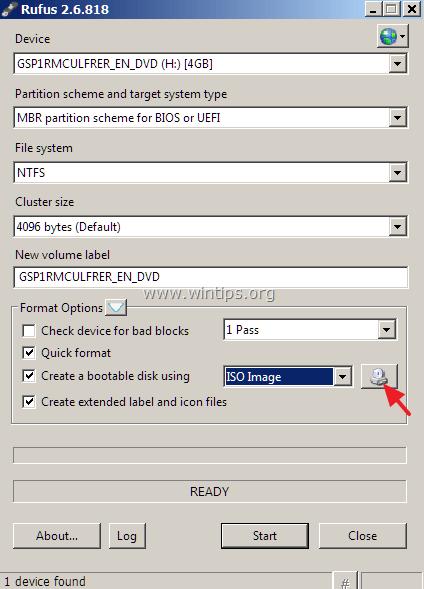 create windows 10 usb from iso image