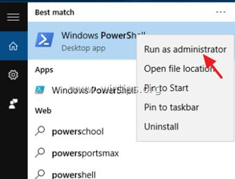 remove default apps windows 10