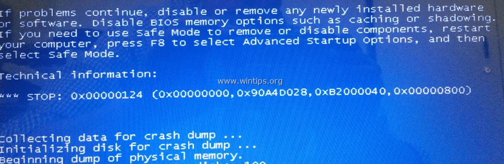 bsod error codes
