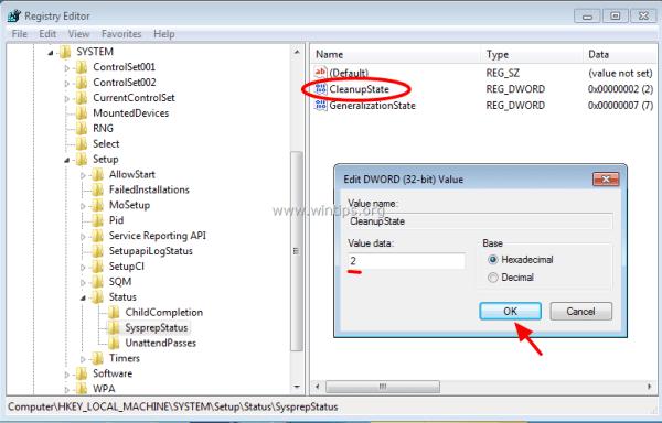 how to fix sysprep error