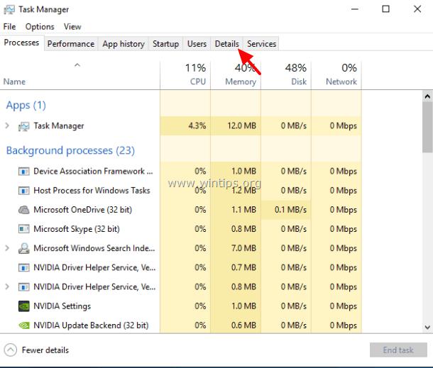 tiworker process windows 10