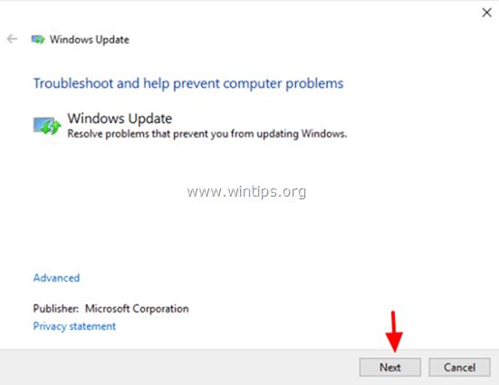 ttroubleshoot windows update problems