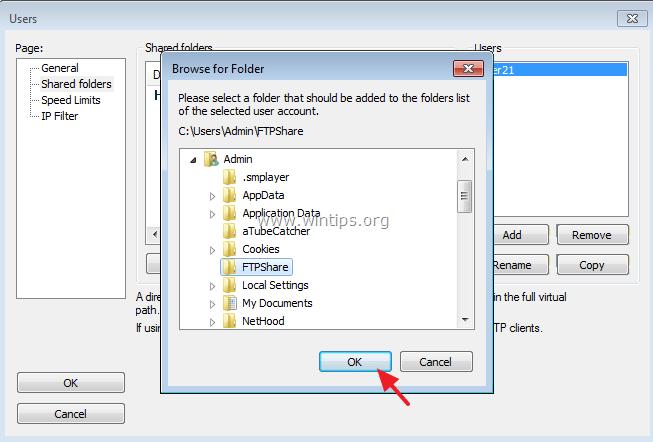 How to Setup FTP Server with FileZilla Server software