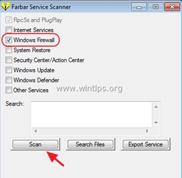 Farbar Service Scanner