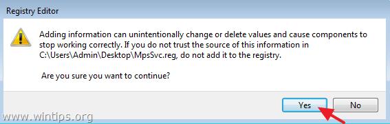 merge registry file