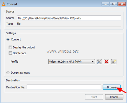 convert mkv video to mp4