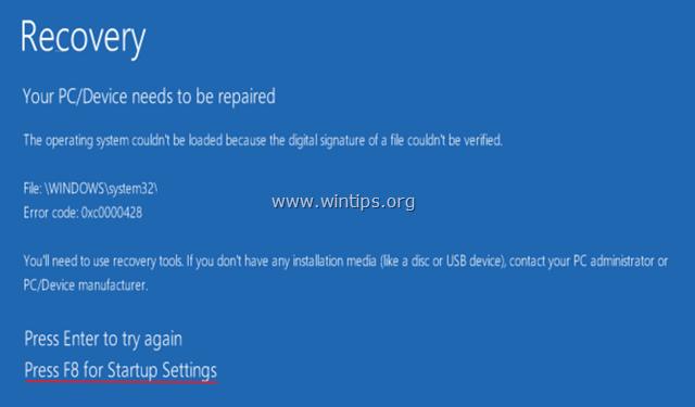 Disable-Driver-Signature-Windows-10