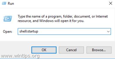 how to add a new start program windows 10