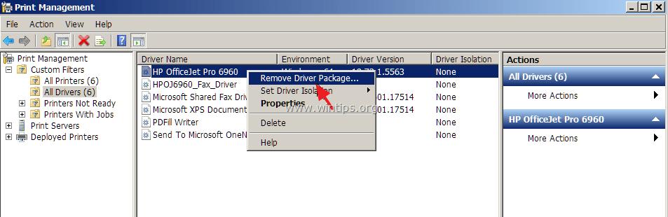 How to Remove Printer Drivers in Windows 10, 8, 7 & Vista  - wintips