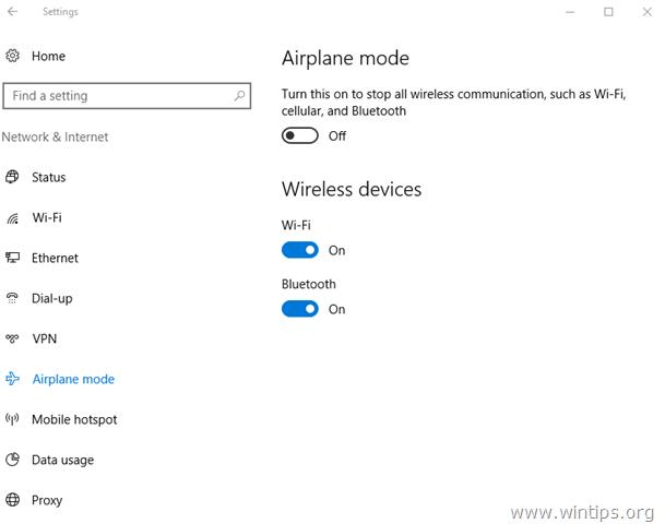 how to turn on wifi adapter windows 10