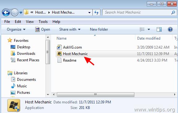 fix hosts file tool