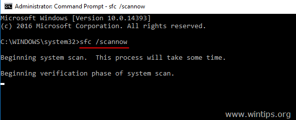 sfc scannow windows 10-8